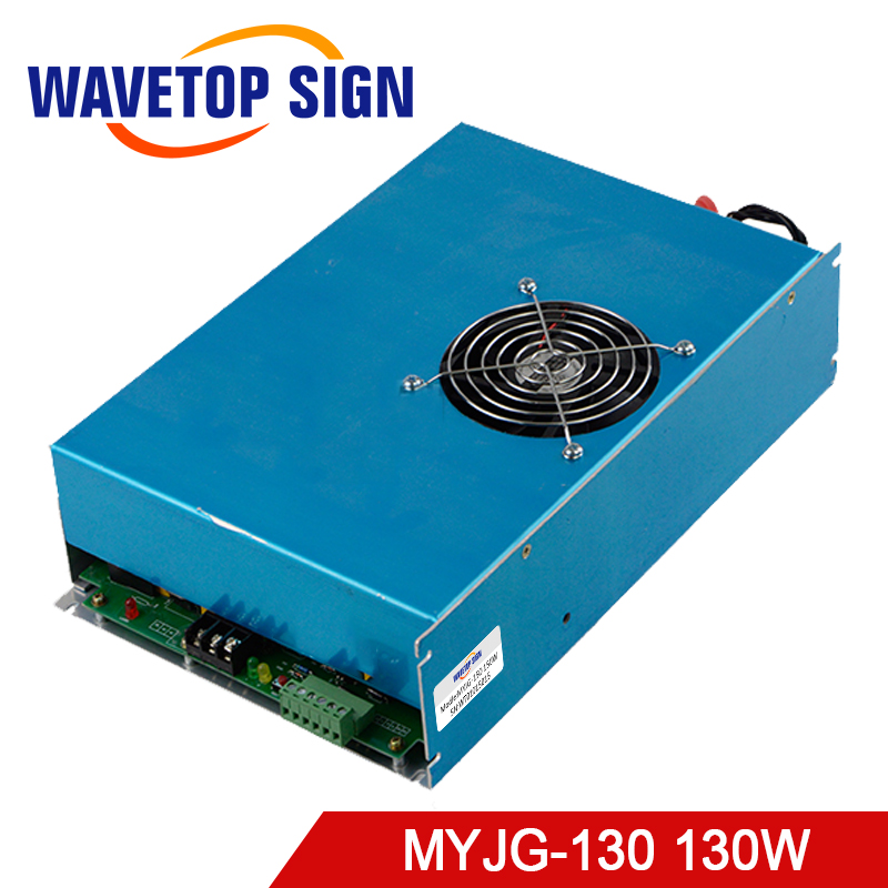 130W CO2 Laser Power Supply for CO2 Laser Engraving Cutting Machine MYJG-130 co2 laser machine laser path size 1200 600mm 1200 800mm
