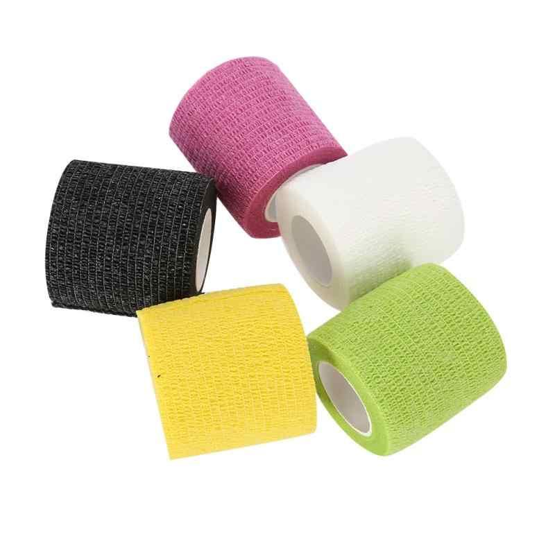 1 Pcs 5 Jenis Pola Kamuflase Kapas Elastis Perekat Strain Cedera Otot Olahraga Stiker Kawat Gigi Lebih Banyak