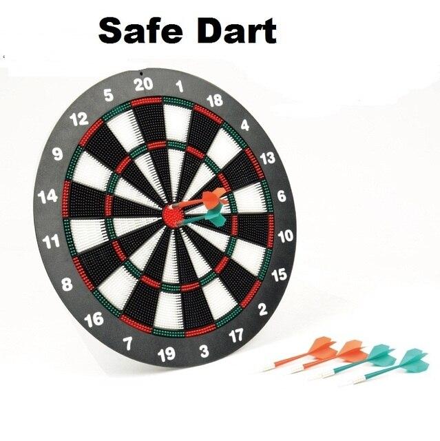 Safe Dart Board 6plastic Dart Set 41 5cm Diameter Family Party Board