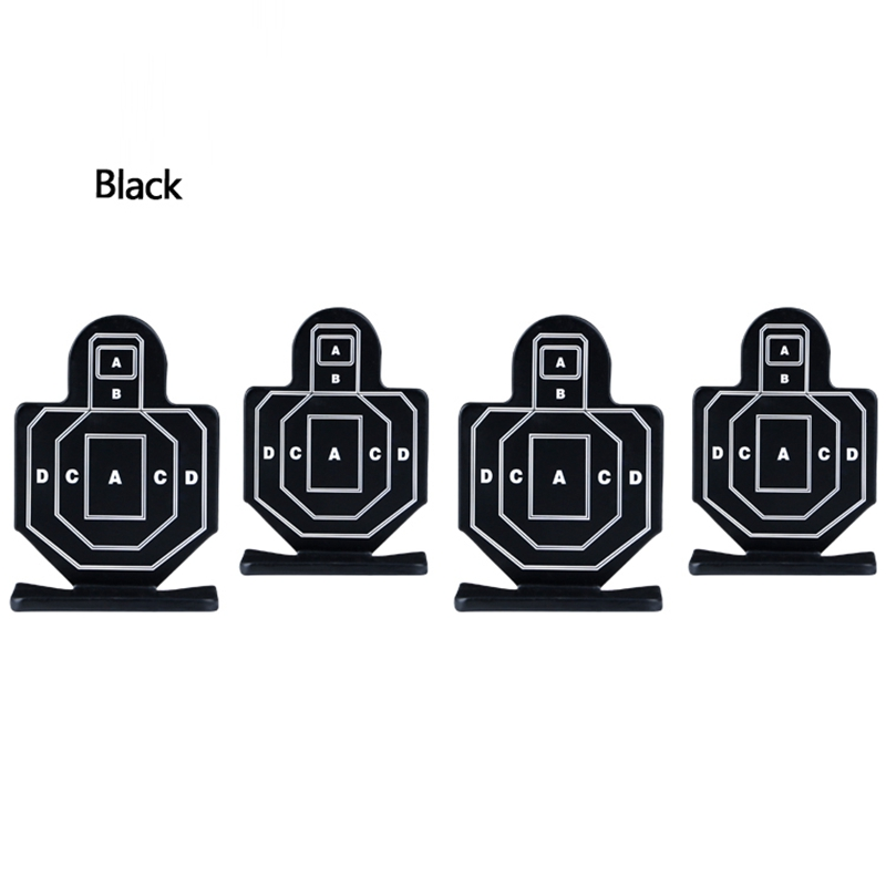 7.5 X 5cm 4pcs / Pack Miliary Tactical Shooting Targets Airsoft Paintball Human Form Target Outdoor Indoor Paintball Accessories
