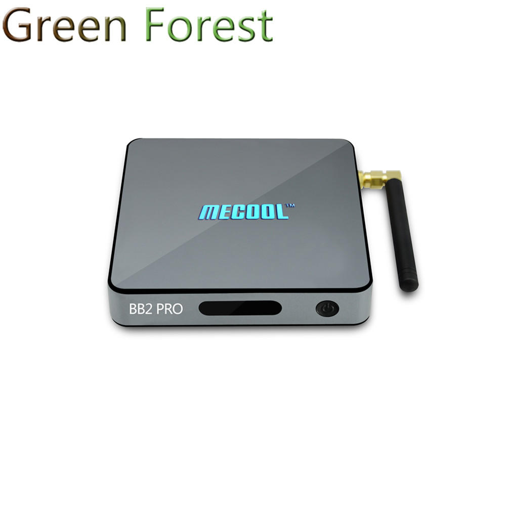 MECOOL BB2 Pro Amlogic S912 64 bit Octa core ARM Cortex-A53 3G/16G Android 6.0 TV Box WiFi BT4.0 2.4G/5.8G kodi 4K Player PK X96