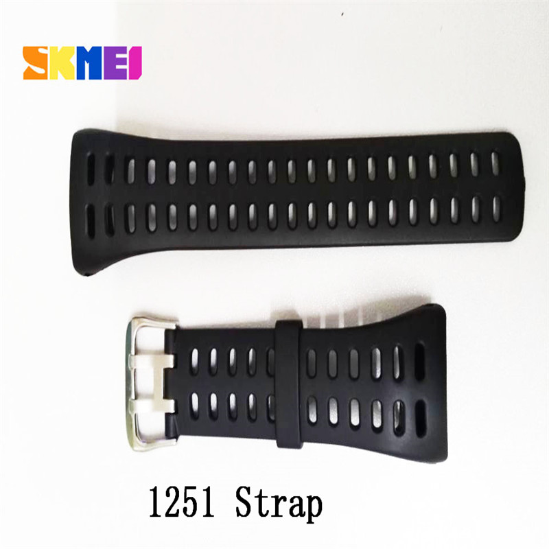 1025 1068 0931 1016 1019 1251 Model Strap Of Skmei Watch Strap Plastic Rubber Straps For Different Model Bands Strap Watchbands