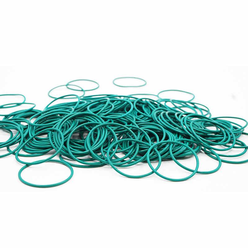 5 sztuk/partia pierścień gumowy zielony FKM O pierścienie uszczelka 1.5mm grubość OD32/33/34/35/36/37/38/39/40mm ORing uszczelka oleju uszczelka paliwa