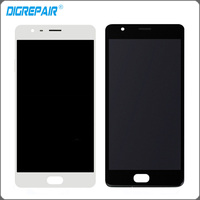 White Black LCD For One Plus OnePlus 3T A3010 LCD Display Touch Screen Digitizer With Bezel