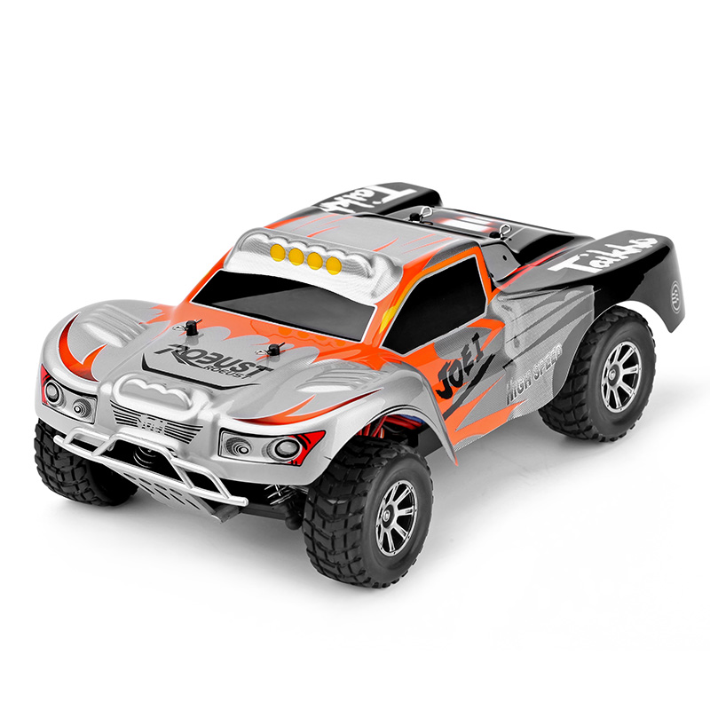 Original RC Car A969 1/18 Scale Toy 2.4G 4WD 4CH 50km/h High Speed RC Drift Short Course Long Distance Control 4 wheel Drive Car 1 set wltoys a969 1 18 scale toys 2 4g 4wd 50km h rc drift short course long distance control 4 wheel shock absorbe