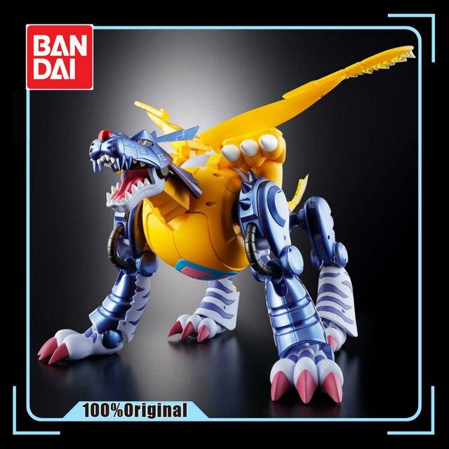 Bandai Digimon Mostro Originale Gabumon in Metallo Garurumon Action Figure Modello di Modifica Deformabile