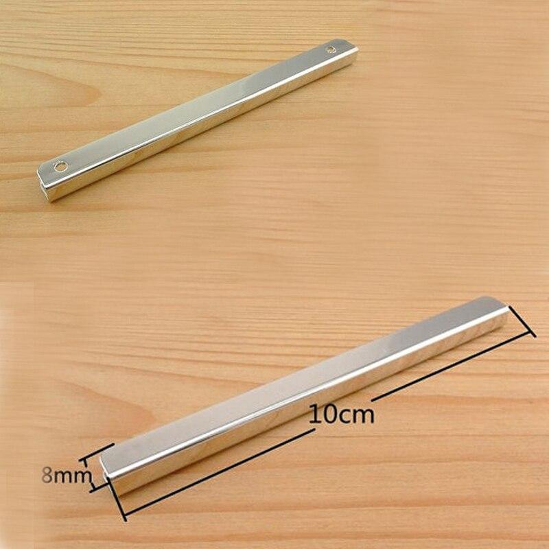 4 Inch (10cm X 0.8cm ) Straight Purse Edging Wallet Frame Wallet Edging Metal Edging Strip