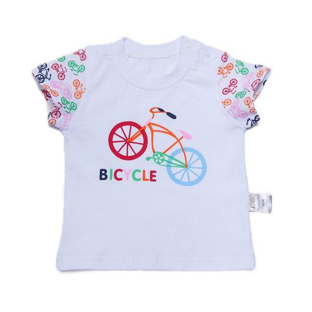 Детские майка унисекс с коротким рукавом новорожденных детская одежда майка детская футболки детская одежда малыша т