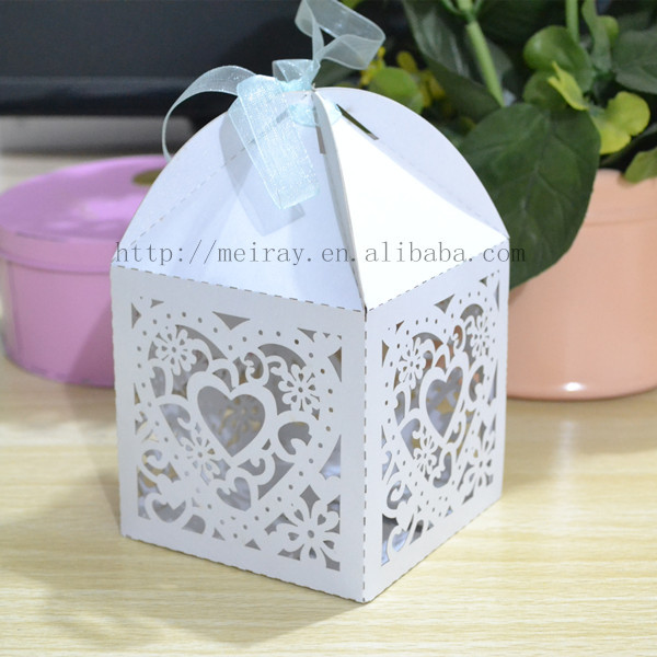 Wedding Gift Bags India : indian wedding return gift ,big heart favor boxes for weddings,laser ...