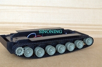 Smart Robot Tank Car Chassis Kits Diy Robot Chassis Tank Track Two Motor VIDEO For Arduino