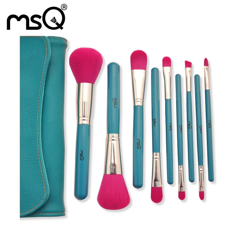 Lady Pro 15pcs Makeup Brushes Set Synthetic Hair Blue Wood Handle Powder Foundation Eyeshadow Eyeliner Lip Brush Tool Travel Bag смартфон highscreen fest xl pro blue