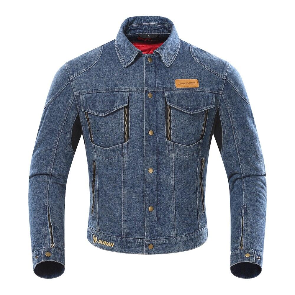 DUHAN veste de Moto hommes été Moto course vestes respirant hiver Moto équipement de protection armure vêtements de course