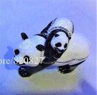 Panda Mother And Bady Bejeweled Trinket Box Handmade Panda Baby Bejeweled Jewelry Trinket Box Bear Jewllery