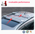 Car styling  Car Styling Auto Roof Racks Side Rails Bars Baggage Holder Luggage Carrier Aluminum Alloy For Suzuki Jimny