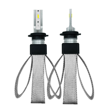 EURS T8 фар автомобиля H4 H7 светодиодные лампы H1 H3 H8 H11 HB4 HB3 9006 9005 H27 880 CSP чипы 9600LM 6000 К 12 В авто лампа лампы