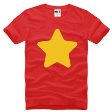 STEVEN UNIVERSE Star Creative Printed T Shirts Men Summer Style Short Sleeve O-Neck Cotton Men's T Shirt Fashion Tee Shirt Homme