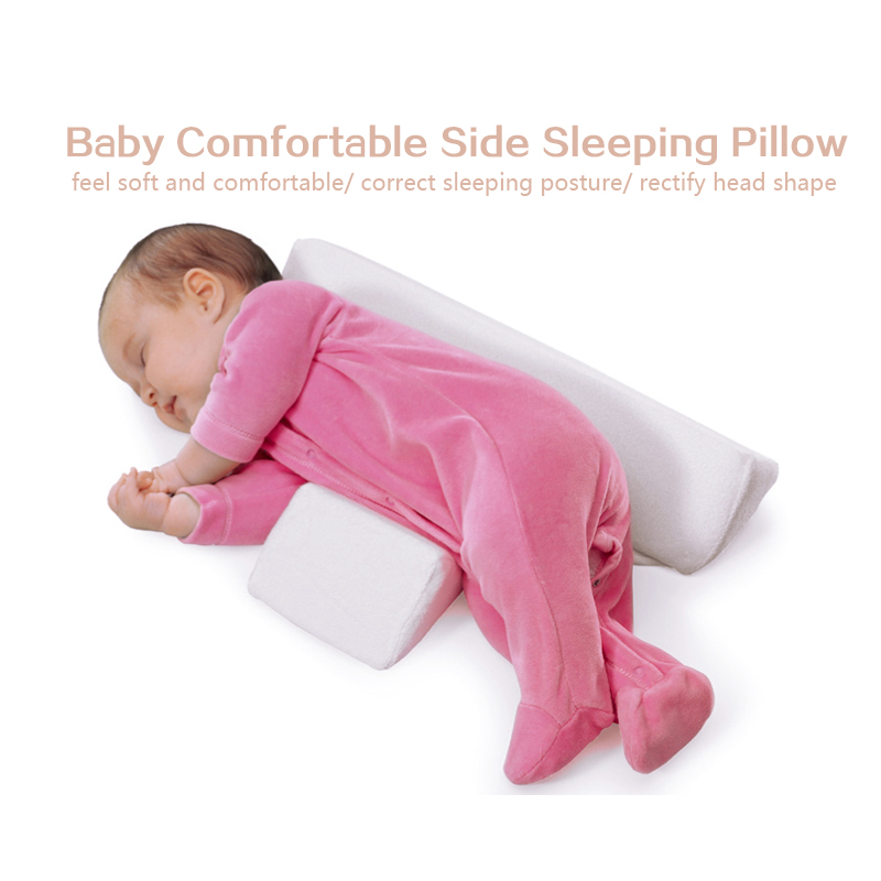 Detachable And Washable Baby Pillow Newborn Baby Infant Sleep Positioner Prevent Flat Head Shape