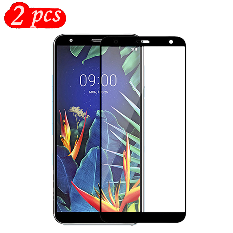 2 Packs Tempered Glass For LG K12 Plus K12+ LG K40 Screen Protector 9H On Phone Protective Glass For LG X4 2019 Glass