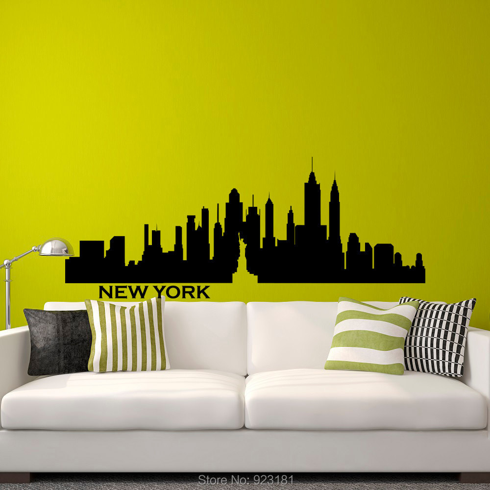 New York Skyline Wallpaper For Bedroom New York Skyline Wallpaper Bedroom