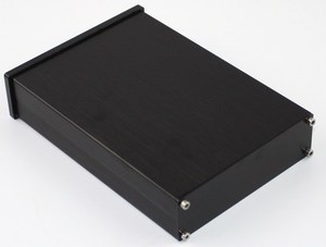 Image 4 - Kyyslb preto painel frontal wa42 completa de alumínio digital amplificador chassi dac decodificador amplificador caso