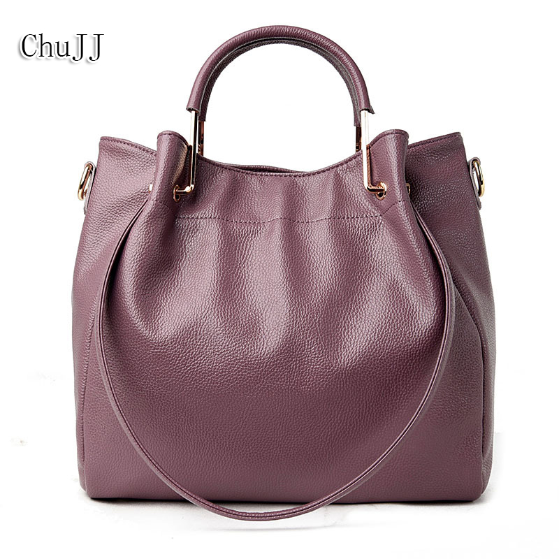 High Quality Women's Genuine Leather Handbags All-match Shoulder CrossBody Bags Fashion Messenger Bag Big Size Bucket Women Bags 5 sets new arrived women leather handbags high grade shoulder bag all match fashion women messenger bags clutch lady bolsas 5set