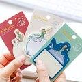 1 х мультфильм цена блокнот бумага Стикеры для планирования наклейка паста kawaii Канцелярские papeleria офисные школьные принадлежности - фото