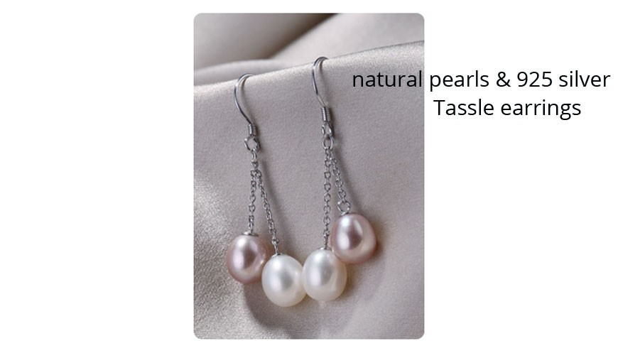 tassle pearl  earrings (1)