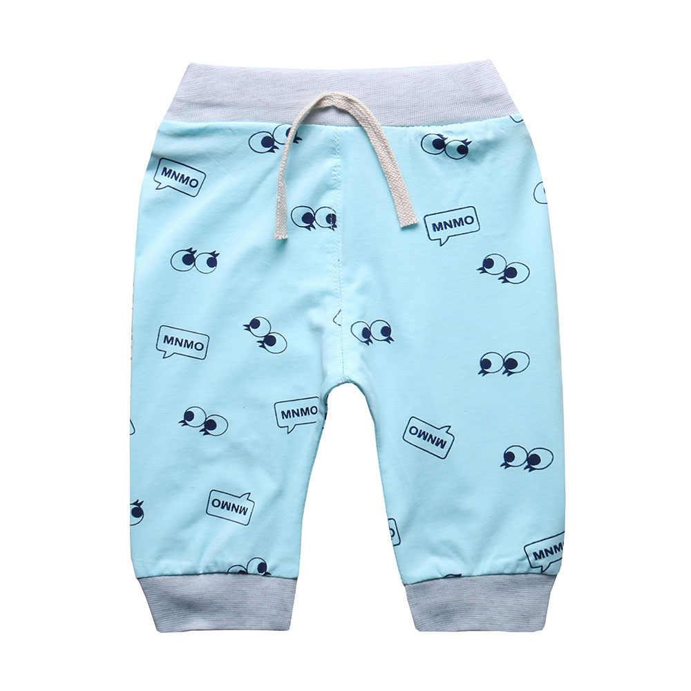2018 sıcak bebek erkek pantolon kızlar için rahat pantolon, çocuklar buzağı uzunlukta pantolon kapriler yaz spor pantolon, çocuk giyim K5-05