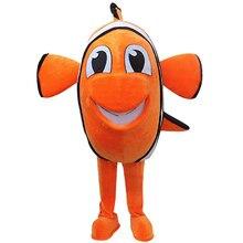 e2de4298066b7a Nemo clown Vis Mascot Volwassen Kostuum Hot Stripfiguur Uit Vinden Nemo  Anime Cosplay Kostuums Carnaval Fancy Dress Voor School