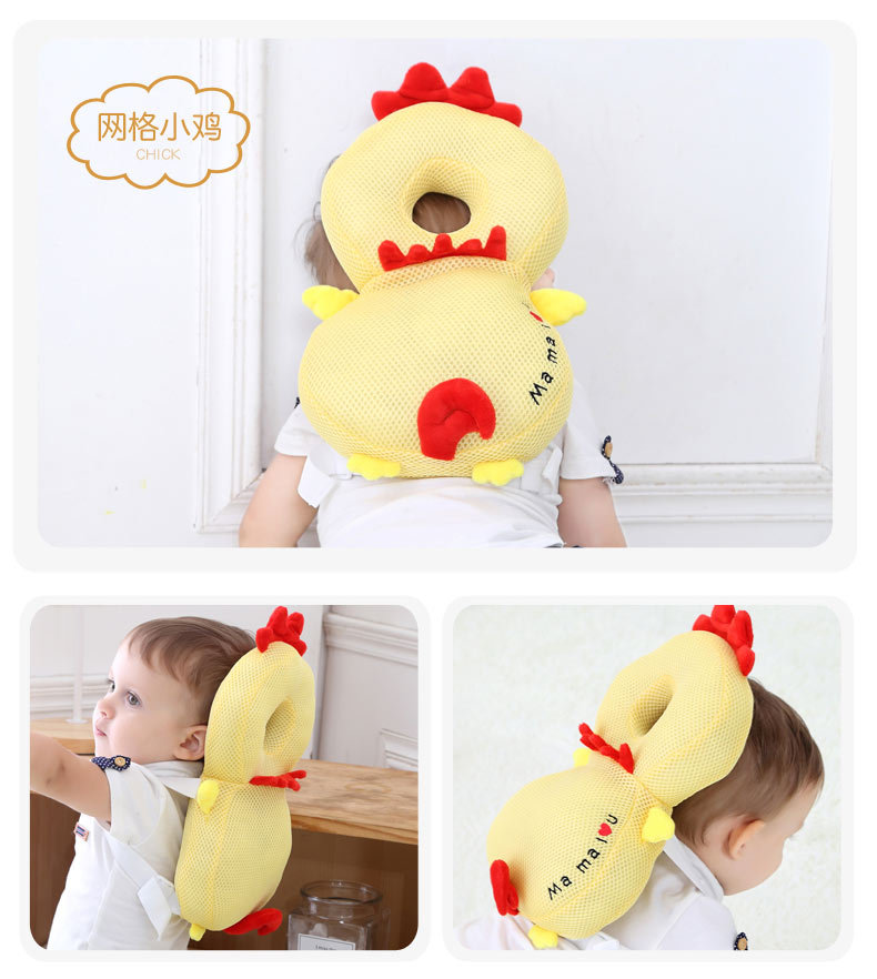 Baby Head Protection Pillow Pad Toddler Back Care Protective Cushion Soft MM