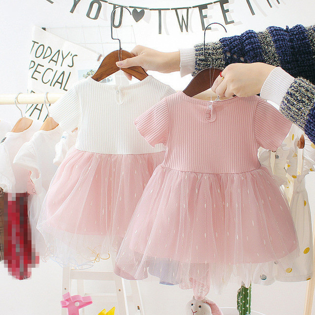 Newborn Baby Girl Dress for Girl 1 Year Birthday Dress 2019 New Fashion Cute Princess Baby Dress Infant Clothing Toddler Dresses 2