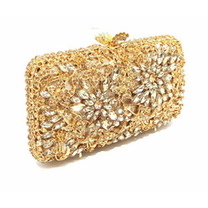 Fashion Luxury Sparkly Diamond Evening Bag Purple Crystal Clutch Bag Women Wedding Party Purse Female pochette banquet bag luxury red crystal diamond flower women evening clutch bag bridal wedding sparkly rhinestone cocktail banquet bag tyvek wallet