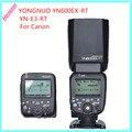 Controlador de flash speedlite yongnuo yn600ex-rt + yn-e3-rt para canon 5d3 5d2 7d 6d 70d 60d