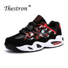 Thestron 2019 Trail Running Shoes Spring Autumn For Men Black Sneakers Comfortable Sport Shoe