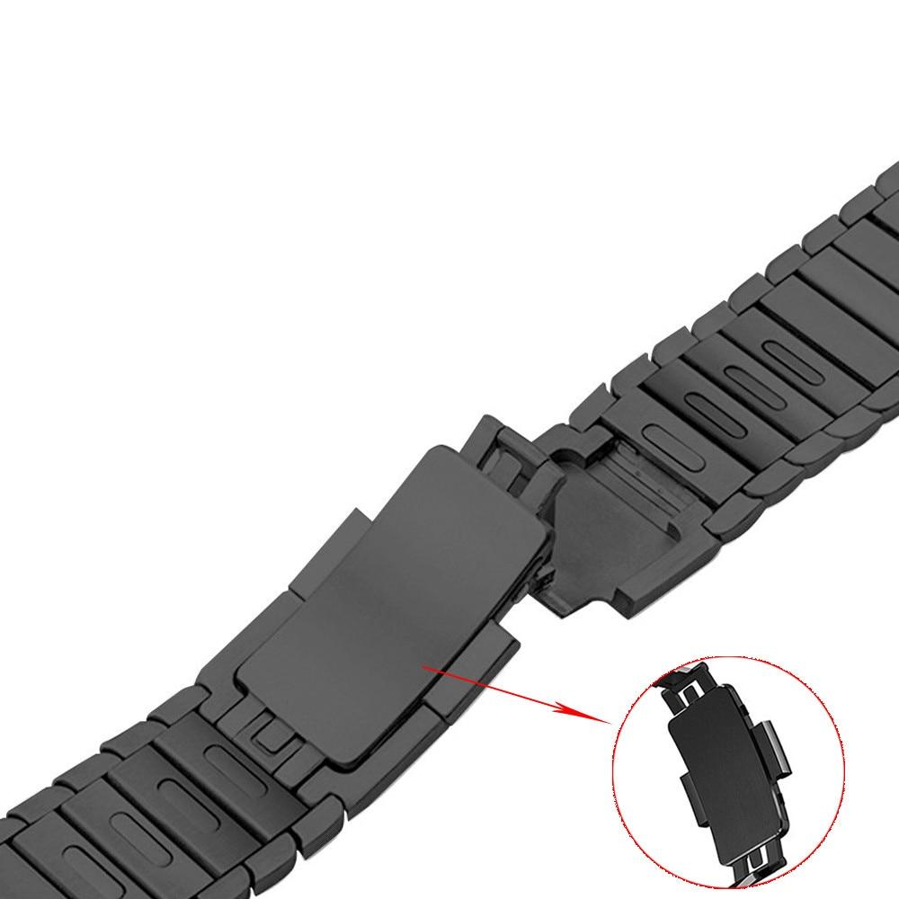 316L bracelet en acier inoxydable pour apple watch bande 44mm 40mm iwatch série 4 3 2 1 38mm 42mm bracelet amovible bracelet bracelet
