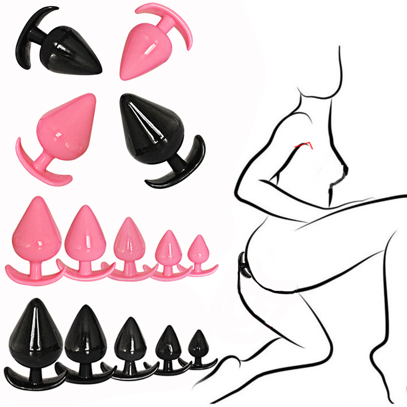 <font><b>Butt</b></font> Anal <font><b>Plug</b></font> Trainer Kit Pleasurable Beginners Adult <font><b>Sex</b></font> <font><b>Toys</b></font> For Woman Medical Silicone Sensuality Soft Safe Hypoallergenic image
