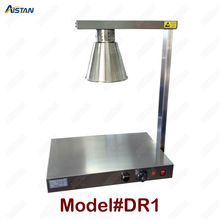 DR1/DR2 electric stainless steel food warmer heating warming lamp light for kitchen equipment цена и фото