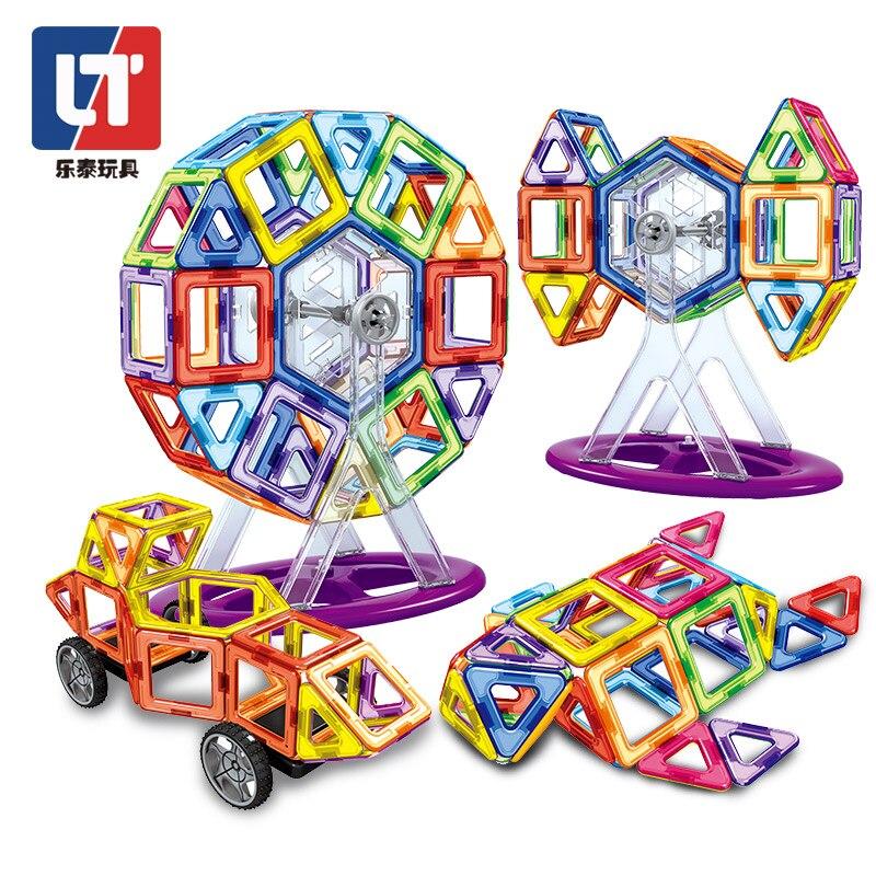 138 Pcs-180 Stuks Standaard Formaat Magnetische Designer Bouw Set Model & Building Toy Magneten Magnetische Blokken Educatief Speelgoed Duurzame Service