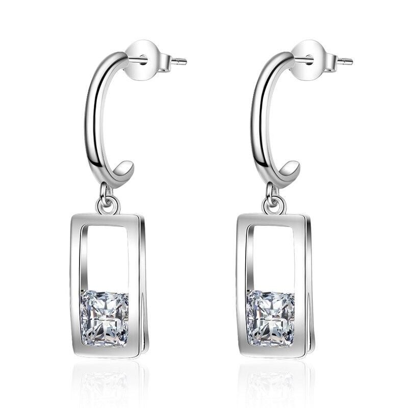 Fashion Women 925 Sterling Silver Butterfly Earrings Ear Studs Gifts Hot
