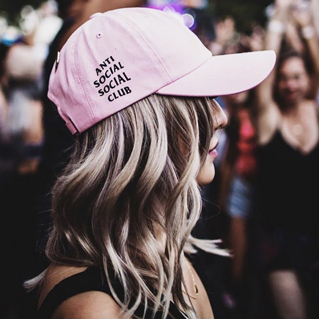 Bordado anti social clube social apoio atacado 10 pcs 30% off hip hop baseball hap travis scotts snapback para homens mulheres