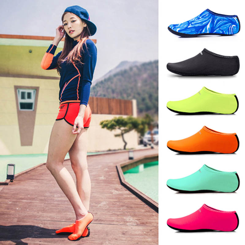 Beach Swimming Water Sport Socks Anti Slip Shoes Yoga Fitness Dance Swim Surfing Diving Underwater Sport Shoes For Kids Men Wome