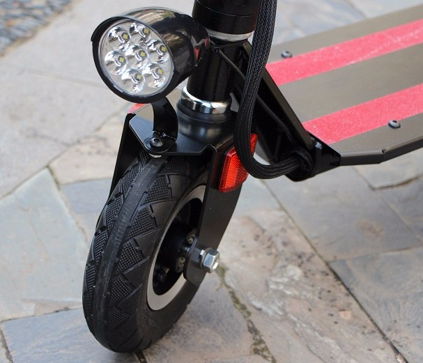 common light install on scooter