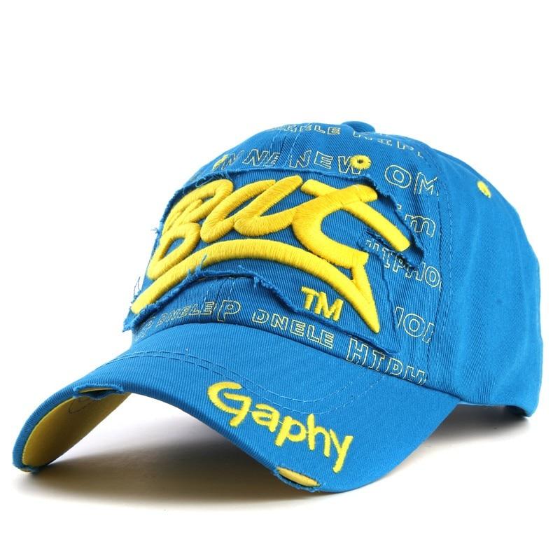 Xthree wholesale snapback hats baseball cap hats hip hop fitted cheap hats for men women gorras curved brim hats Damage cap