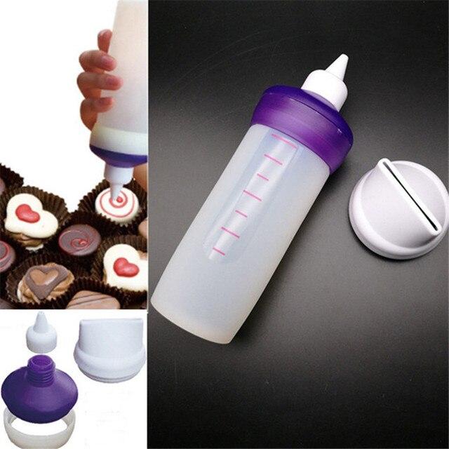 Silikon Backformen Candy Schmelzen Dekorieren Squeeze Flasche Kuche
