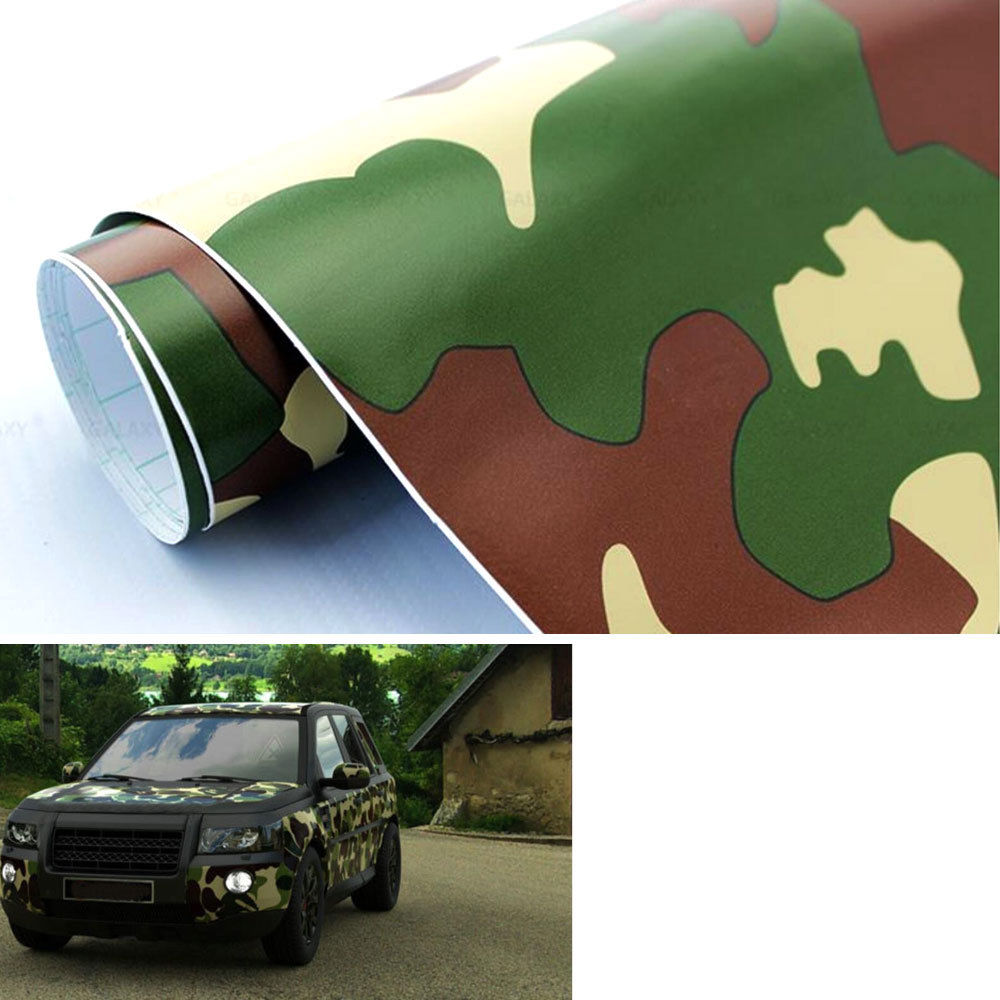 """19/""""x 39/"""" Large Army Protective CAMO Camouflage Digital Vinyl Sticker Wrap Decal"""