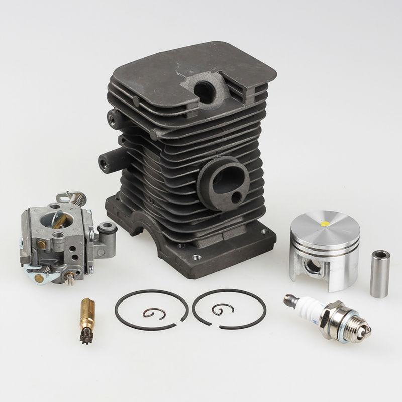 38mm Cylinder Piston kits with Zama Carburetor Carb Spark Plug For Stihl Calm MS180 018 Chainsaw
