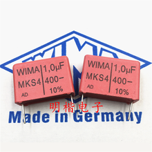 10PCS/30PCS WIMA Wima Capacitor MKS4 400V 1.0UF 105 1UF Pitch 22.5mm FREE SHIPPING