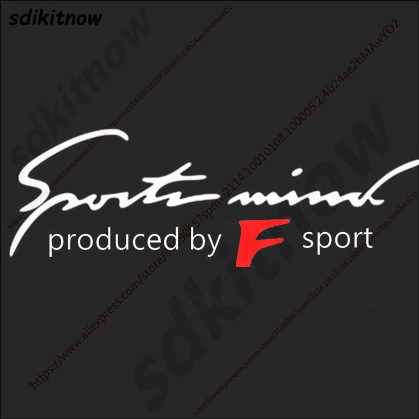 F Sport Fsport спереди и сзади сторона кузова Windows Стикеры наклейка автомобиль-Стайлинг украшения для Lexus IS ISF GS RX RX350 ES IS2502 ...