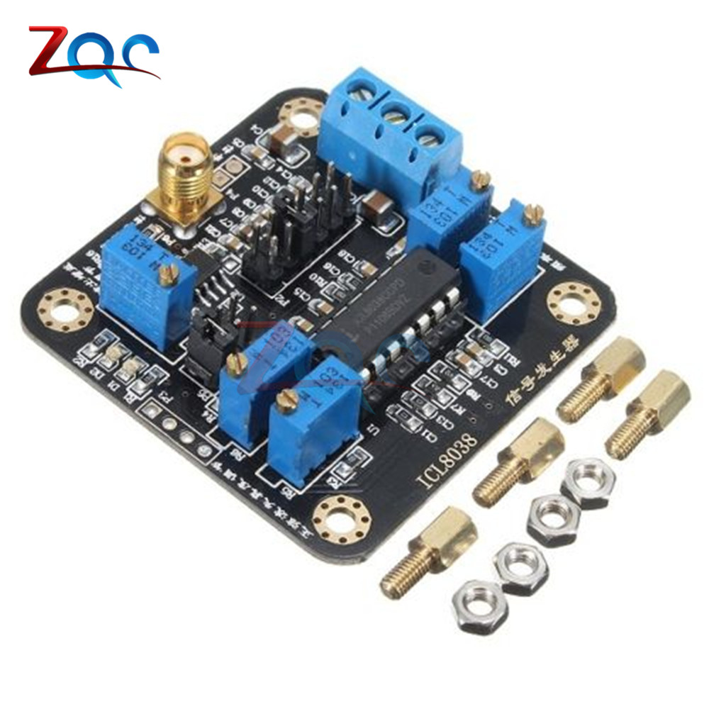 ICL8038 Low-Frequency Signal Generator Module Sine Square Triangle Wave Board 50x50mm Modules ...