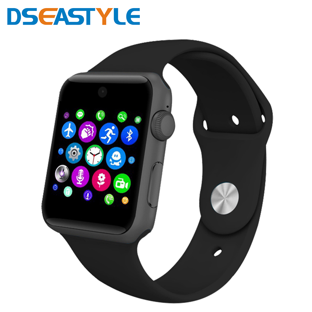 LF07 bluetooth Orologio Intelligente Orologio di Sincronizzazione Notifier Supporta SIM Card Bluetooth per Apple iphone Android Phone Smartwatch Orologio
